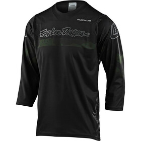 Troy Lee Designs Ruckus Factory Camo 3/4 Jersey, green/black